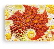 Semi Discrete Magma Canvas Print