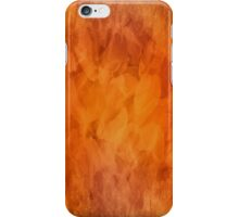 Amber rock iPhone Case/Skin