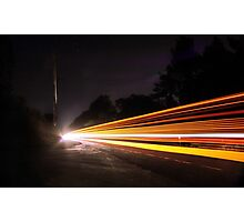 Multi Light Trails  Photographic Print