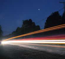 (Pre-dawn) Highway Traffic by Aaron Campbell