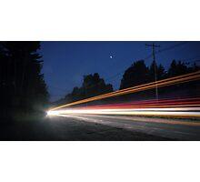 (Pre-dawn) Highway Traffic Photographic Print