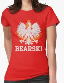 Chicago Polish Bearski  Womens Fitted T-Shirt