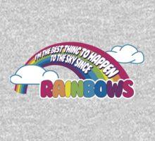 Cabin Pressure - Rainbows One Piece - Long Sleeve