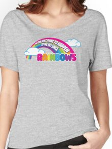Cabin Pressure - Rainbows Women's Relaxed Fit T-Shirt