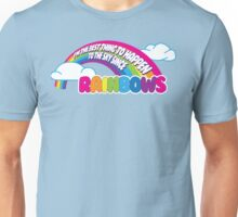 Cabin Pressure - Rainbows Unisex T-Shirt