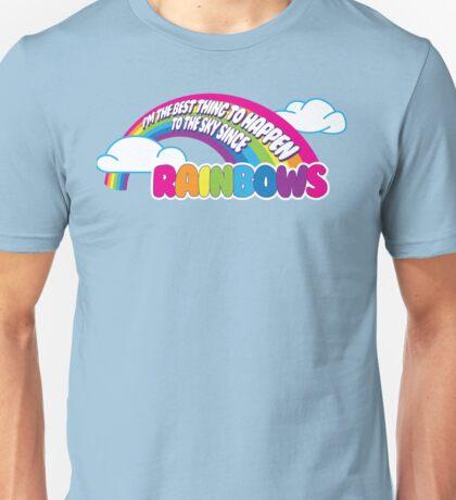 Cabin Pressure - Rainbows Unisex T-Shirt