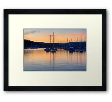 Colour Reflections #2- Newport, Sydney - The HDR Experience Framed Print