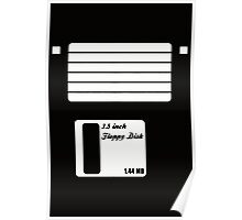 Floppy Disk Computer Geek Poster