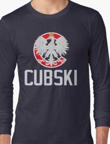 Chicago Polish Cubski Fan Long Sleeve T-Shirt