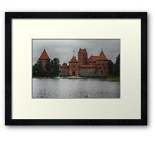 Castle of TRAKAI, gate Framed Print