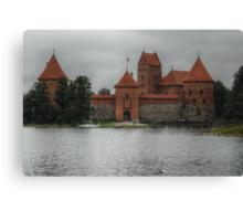 Castle of TRAKAI, gate Canvas Print
