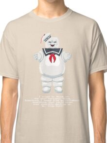 Stay Puft - Ghostbusters Pixel Art Classic T-Shirt
