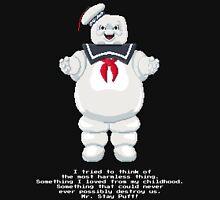 Stay Puft - Ghostbusters Pixel Art Unisex T-Shirt
