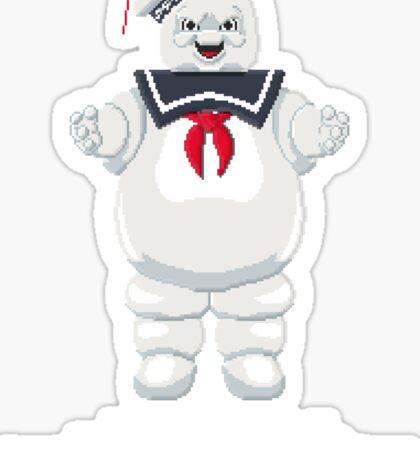 Stay Puft - Ghostbusters Pixel Art Sticker