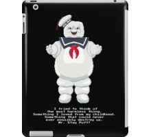 Stay Puft - Ghostbusters Pixel Art iPad Case/Skin