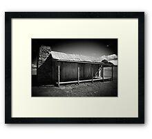 pioneer's abode Framed Print