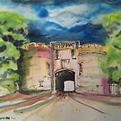 'Skipton Castle' by Martin Williamson (©cobbybrook)