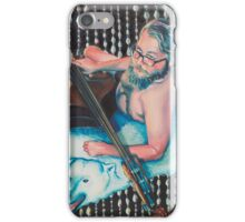 Bassist Pin Up iPhone Case/Skin