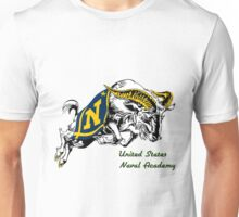 THE USNA Rampaging Goat! Unisex T-Shirt