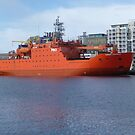 Aurora Australis, Antarctic Supply Ship, Hobart by TonyCrehan