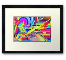 JIGSAW PUZZLE Framed Print