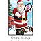 Christms Card - Always Time For Tennis by Moonlake