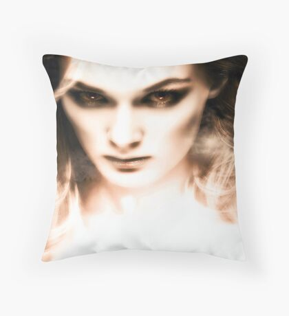 The visions of Laura Means. Throw Pillow