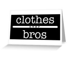 Clothes Over Bros shirt – One Tree Hill, Brooke Davis Greeting Card