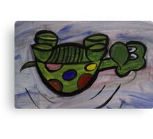 Silly Turtle Canvas Print
