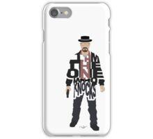 I Am The One Who Knocks Heisenberg iPhone Case/Skin
