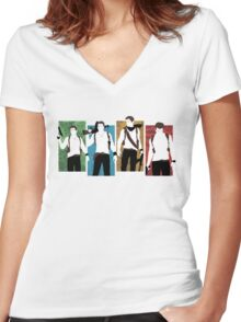 Uncharted Evolution Women's Fitted V-Neck T-Shirt