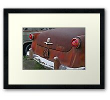 1954 Ford waiting for a new home Framed Print