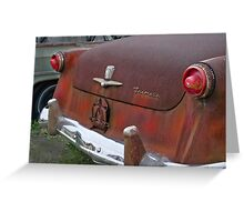 1954 Ford waiting for a new home Greeting Card