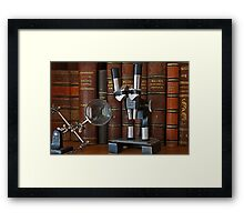 Optics Framed Print