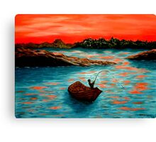 """""""Red Sky"""" Canvas Print"""