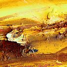 Abstract rusty lumps of metal by hardhhhat