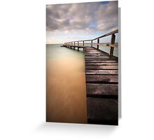 34 Steps Greeting Card