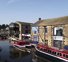 Leeds/Liverpool Canal at Skipton. by Brunoboy