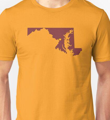 Home Sweet Maryland/ D.C (Football) Unisex T-Shirt