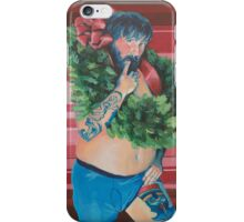 Christmas Pin Up iPhone Case/Skin