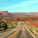 The Road to the Canyons by saxonfenken