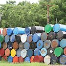 Colorful Barrels by deserttrends