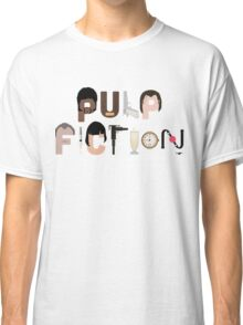 Pulp Fiction Characters Classic T-Shirt