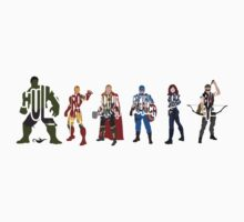 The Avengers by Grantedesigns  :)