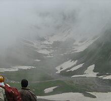 The great fog in amarnath by Ravneetsingh