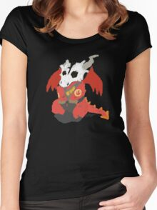 Chibi Pyro Red Women's Fitted Scoop T-Shirt