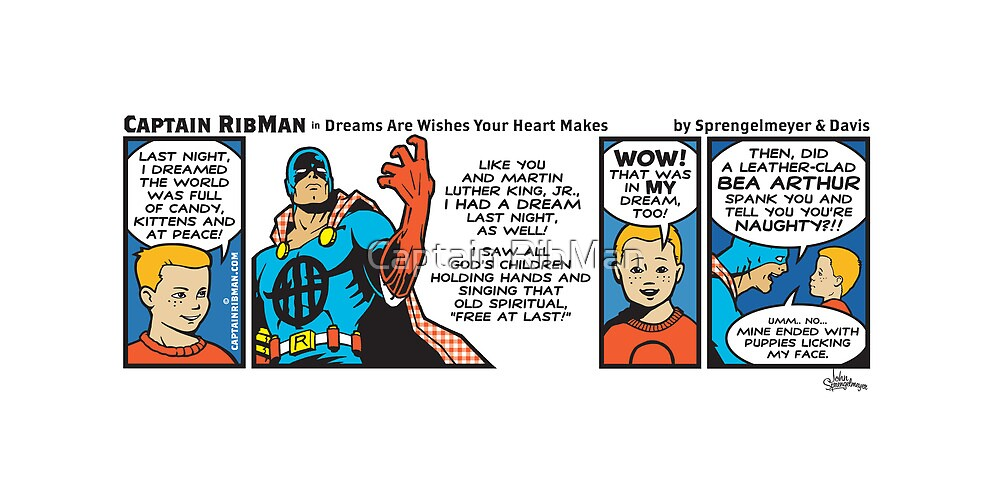 Dreams Are Wishes Your Heart Makes by Captain RibMan