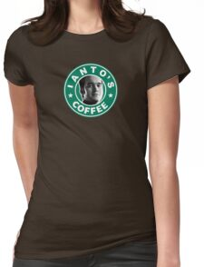 Ianto's Coffee Womens Fitted T-Shirt