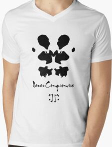 Never compromise Mens V-Neck T-Shirt