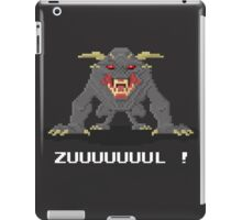 Zul - Ghostbusters Pixel Art iPad Case/Skin